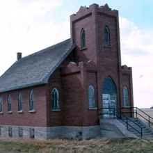 <a href=http://squareflo.com target=_blanc>http://squareflo.com</a> Bonnie View Church, Loreburn RM 254  Origin:1928  Image:GovtSask.