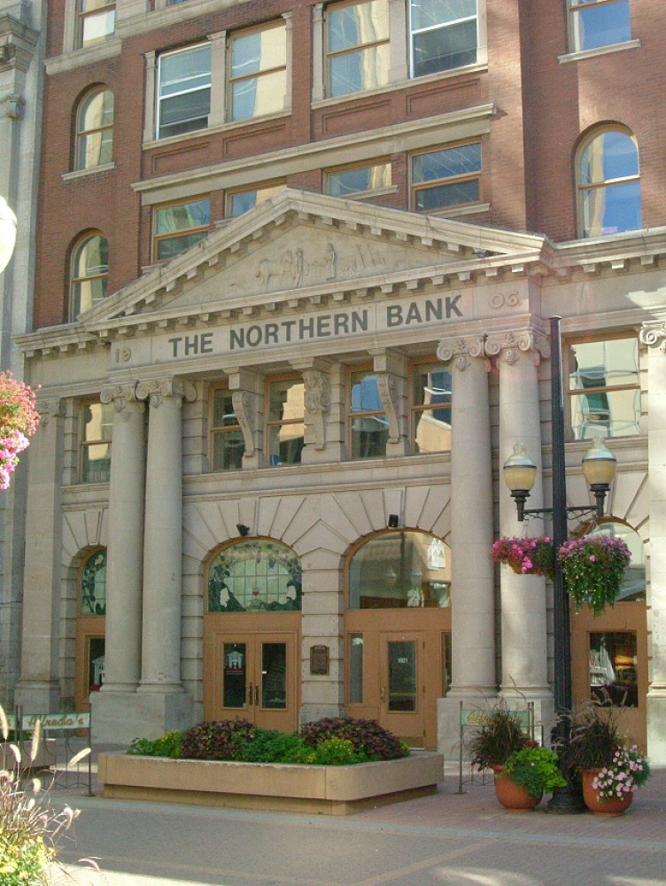 NORTHERN CROWN BANK BUILDING